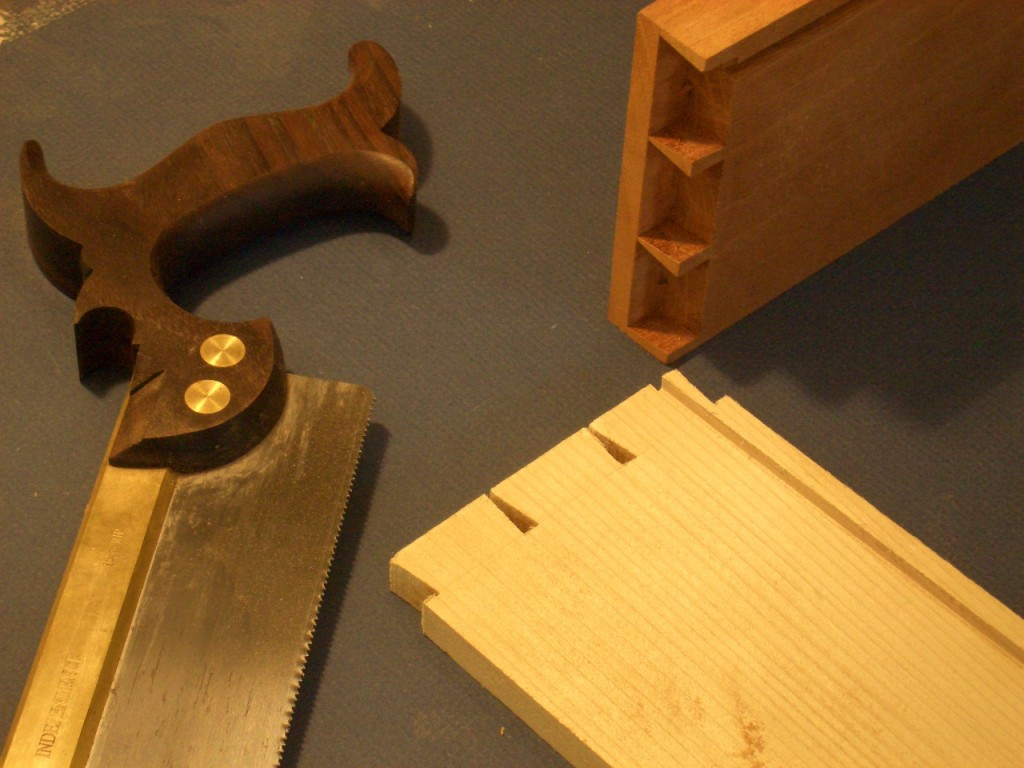 Hidden Dovetail Joint