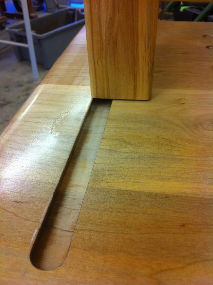Sliding Dovetail Mortice