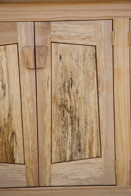 spalted maple door panels and frames